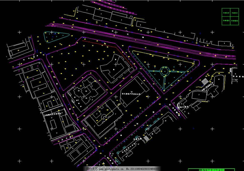 样板房 户型 标准层 标准间 大连豪景城方案cad图 建筑设计 环境设计
