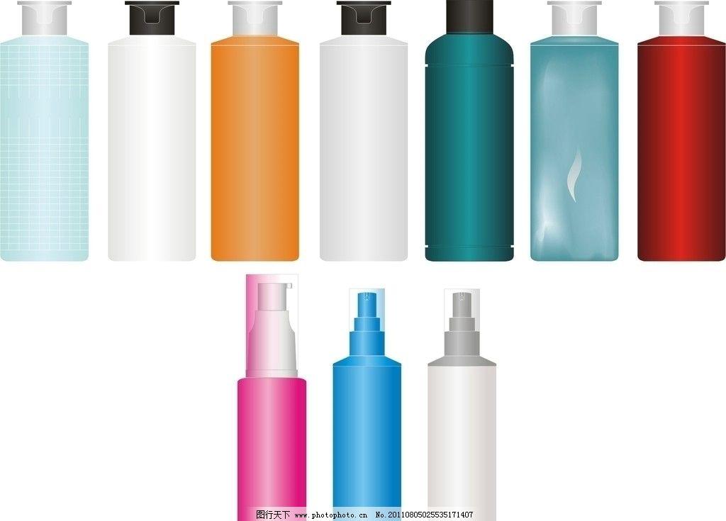 彩色瓶子图片