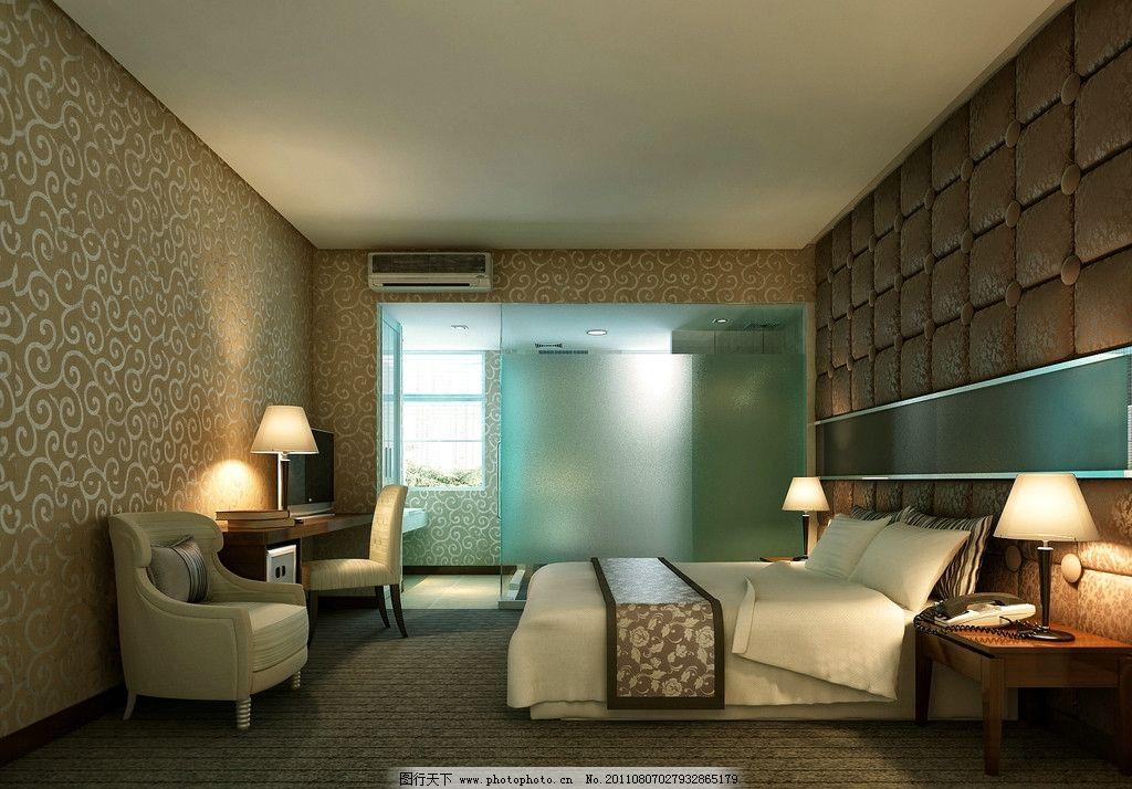 豪华房间 方案吊顶 造型 灯光 灯具 窗帘 木地板 木饰 室内摄影图片