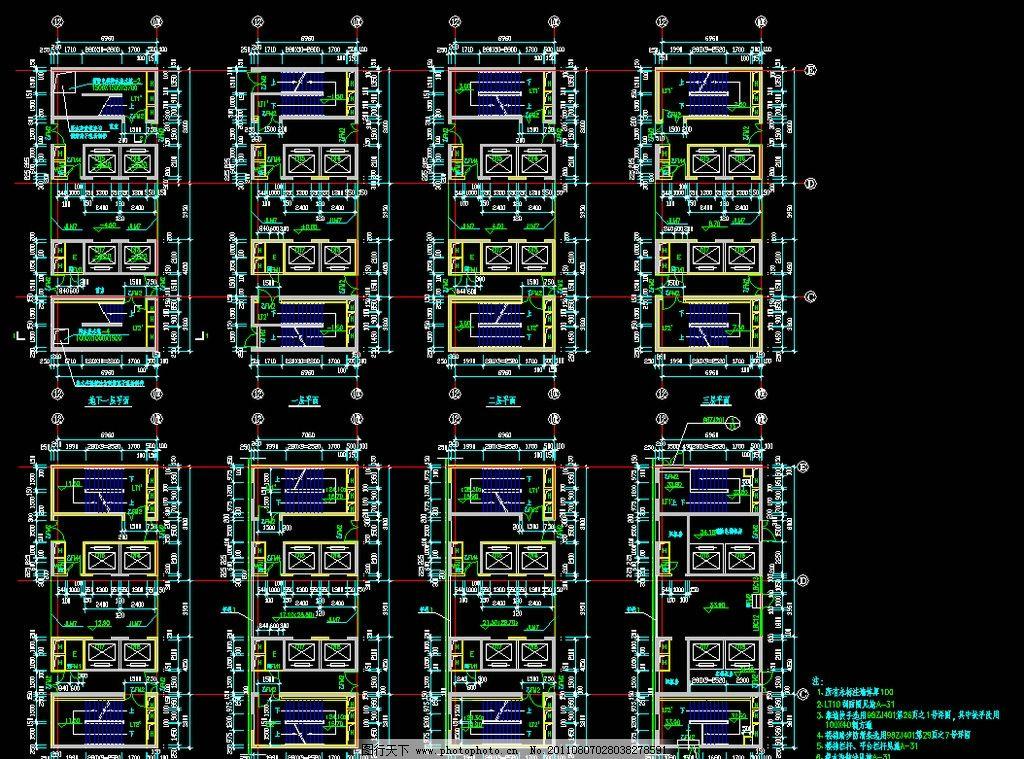 核心筒详图图片_建筑设计_环境设计_图行天下图库