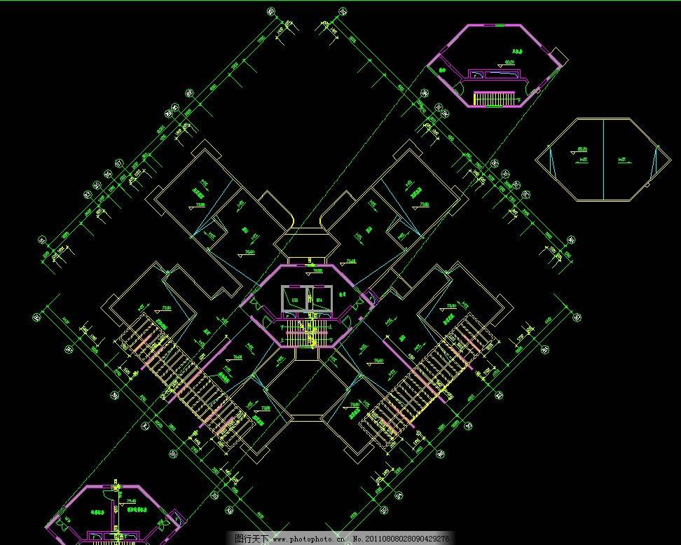 超市的建筑平面图
