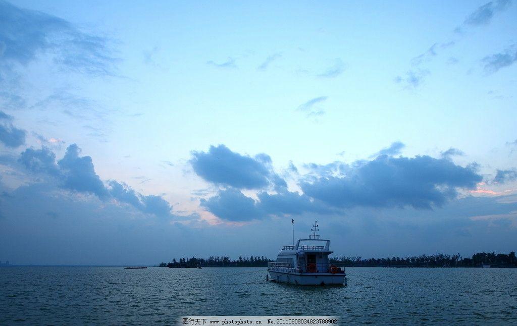 滆湖风光图片_自然风景_自然景观_图行天下图库