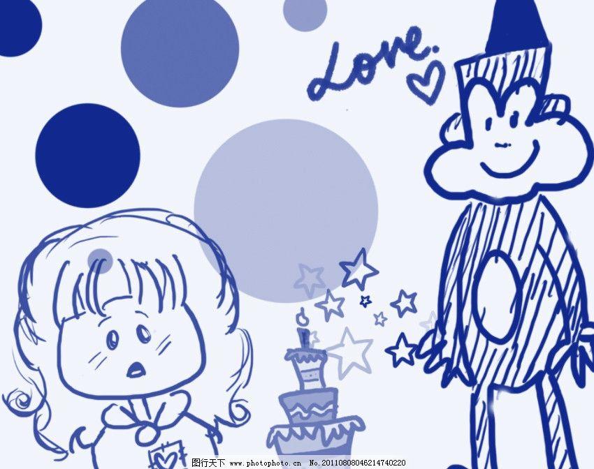 儿童手绘笔刷 可爱笔刷 卡通 可爱 手绘 涂鸦 笔刷 特效笔刷 ps笔刷