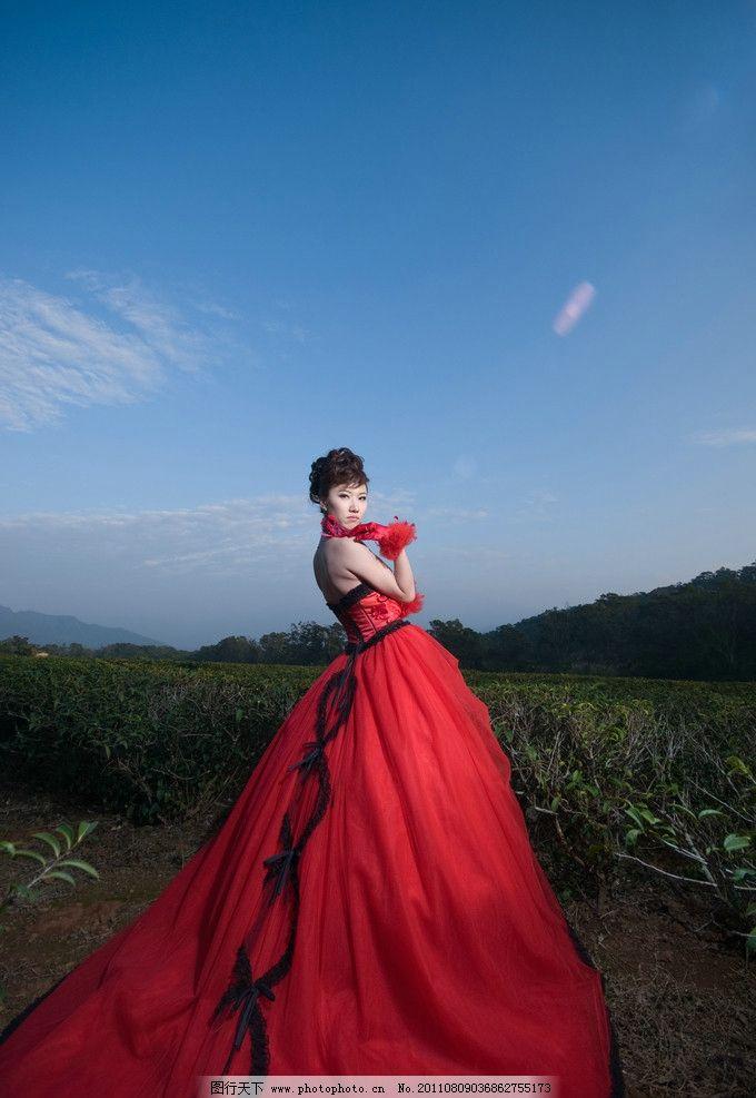 时尚婚纱照图片