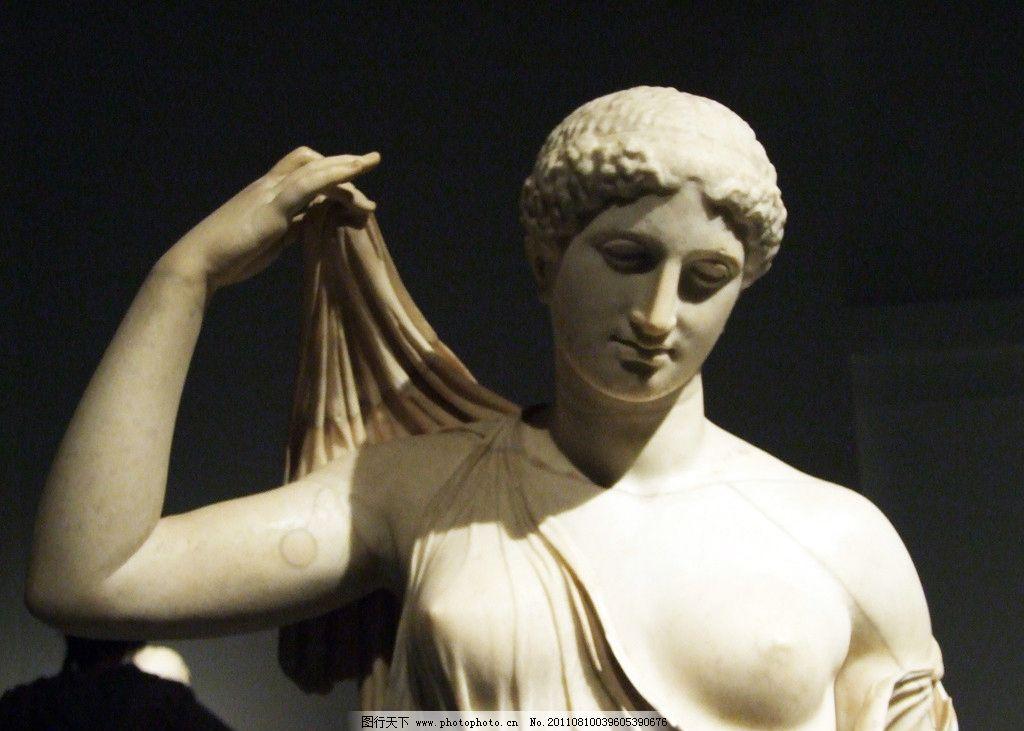 欧洲人物雕像 半身像 中世纪雕像 石雕像 建筑园林 摄影