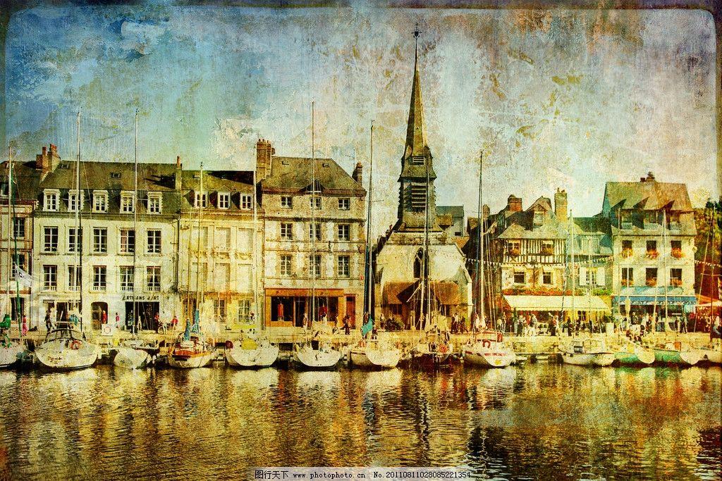 欧式怀旧建筑图片