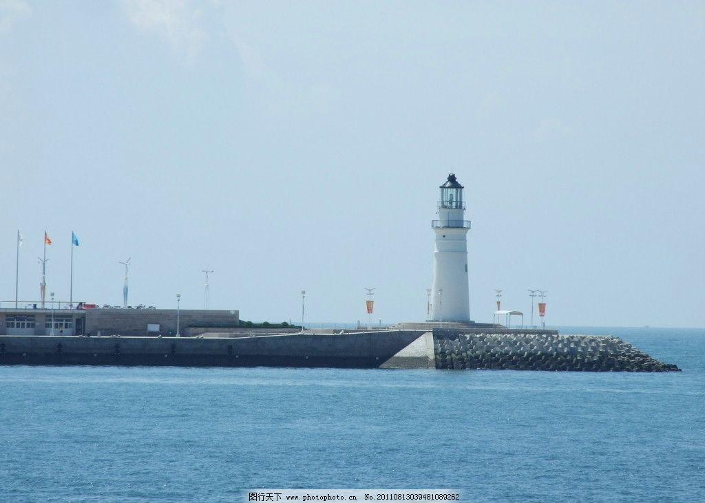 青岛灯塔图片