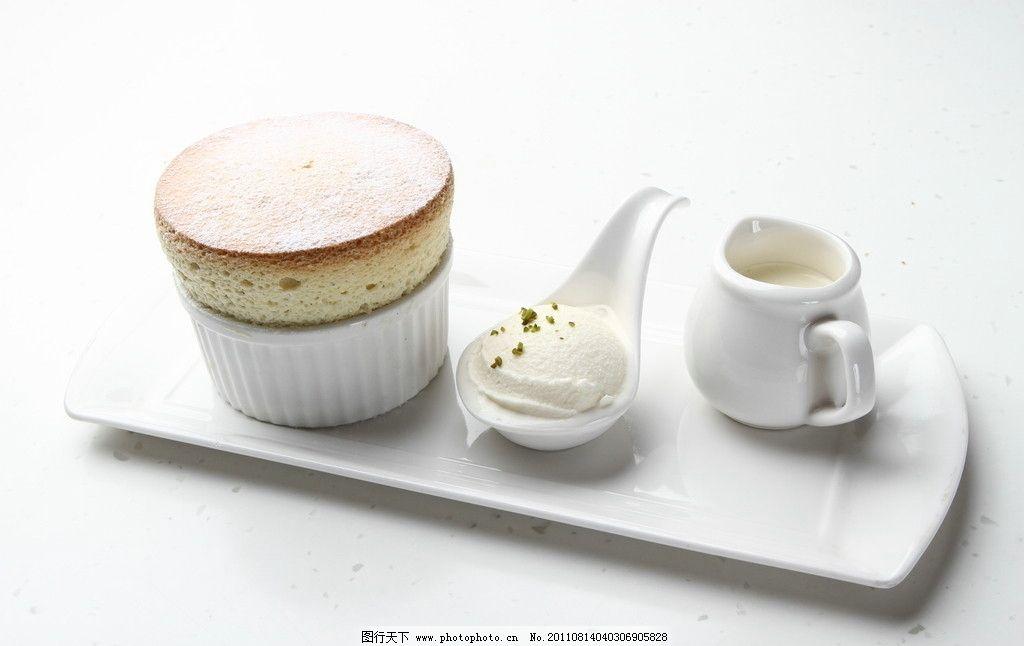 法式甜品 舒芙蕾 柑曼怡草香图片图片