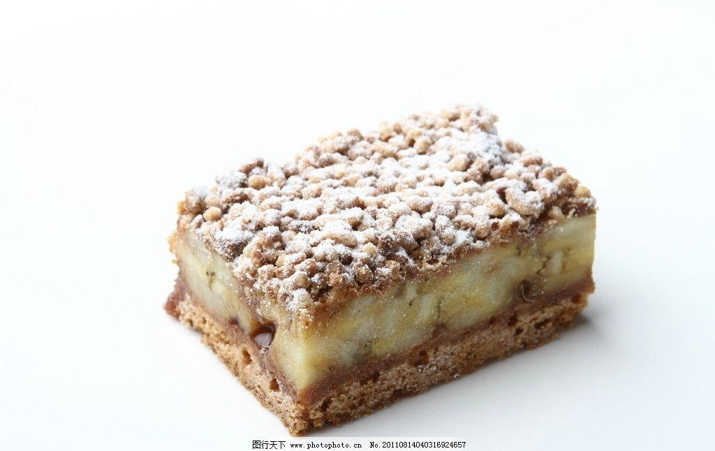 法式甜品 黑糖酥 菠萝香蕉塔图片