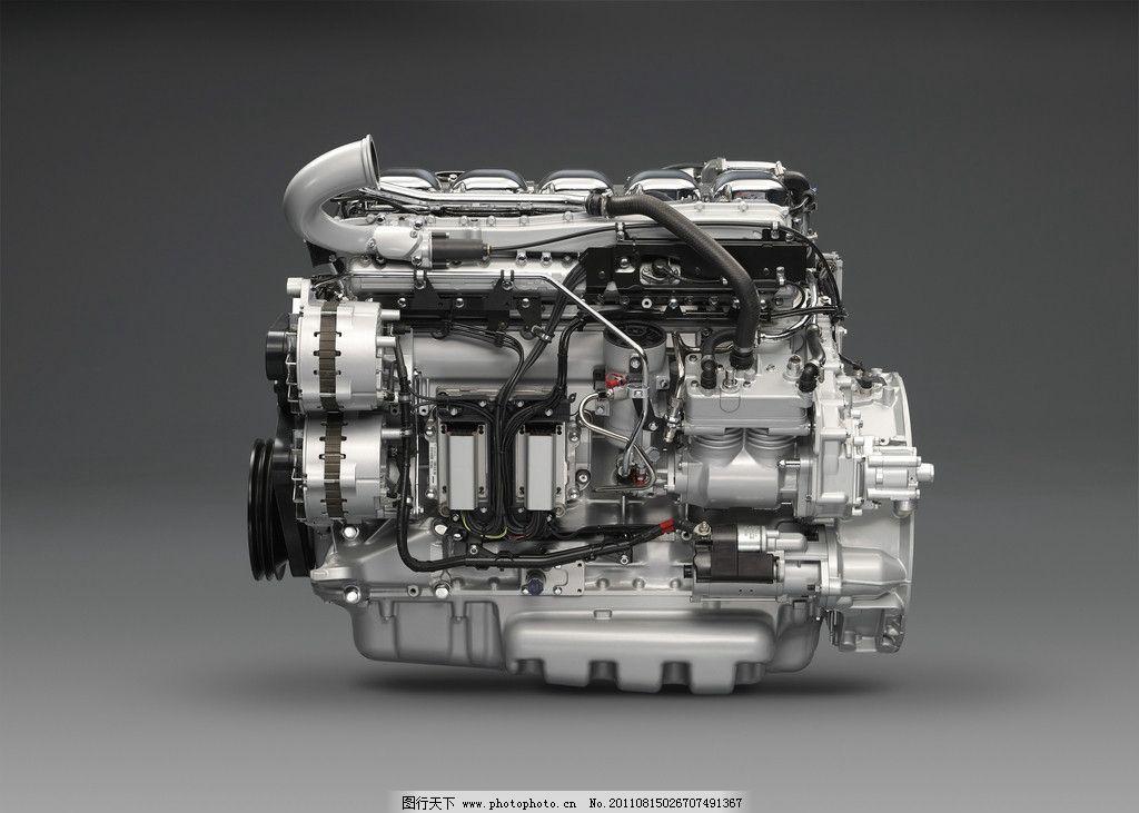 发动机 汽车 机械 零件 汽车部件 动力 科技 工业科技 交通工具 现代