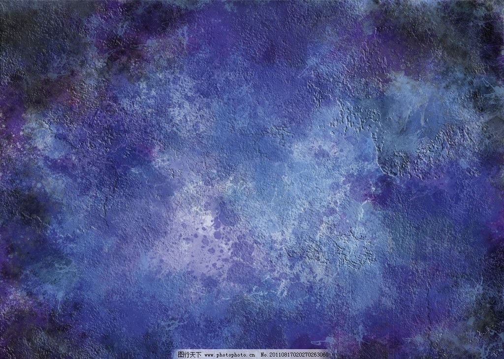 蓝色背景墙纹理图片_背景底纹_底纹边框_图行天下图库