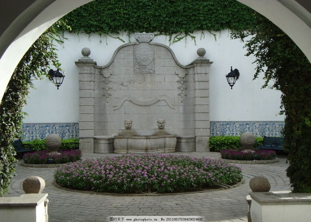 园林建筑 中式 欧式 景观 旅游 名胜 古迹 建筑摄影 建筑园林