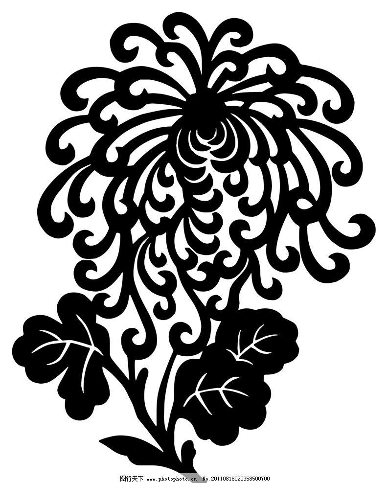中国传统花纹 矢量图形 花纹 花蕊 花朵 传统 经典 图案 中国图案