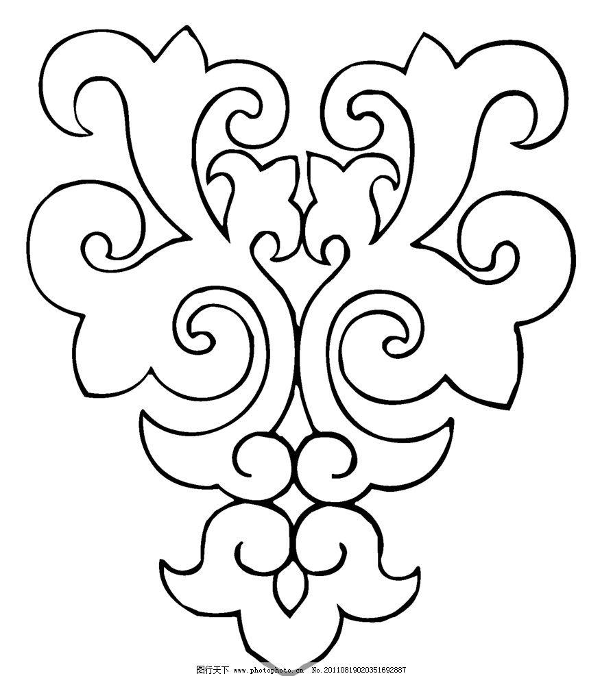 花纹 传统 经典 图案 纹样 对称 中国图案 精心设计 eps 矢量 广告