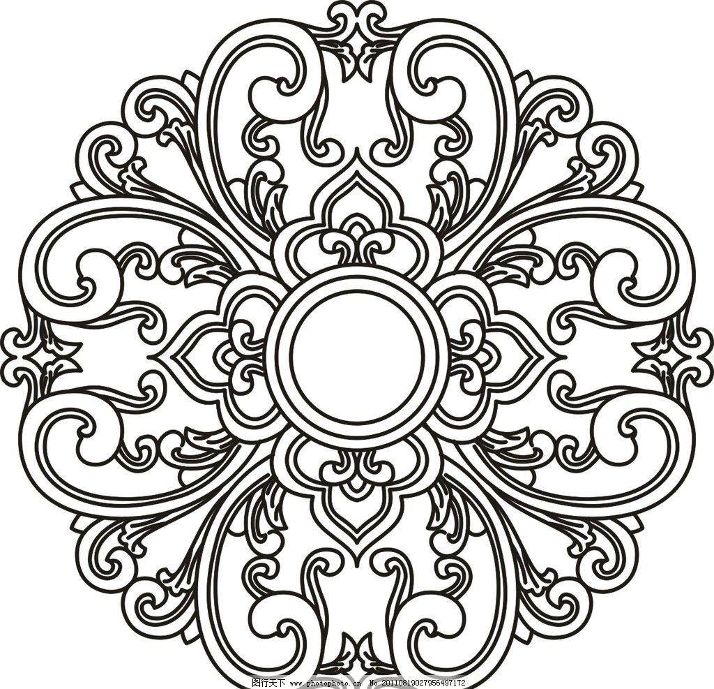 欧式花纹 玻璃刻花 室内设计