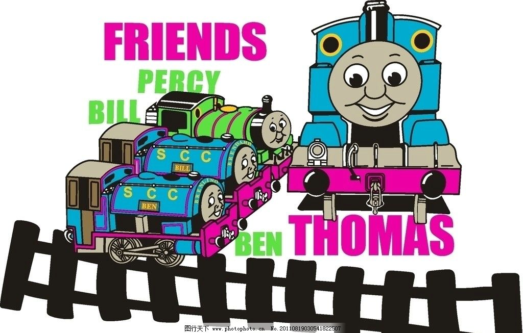 托马斯火车图片