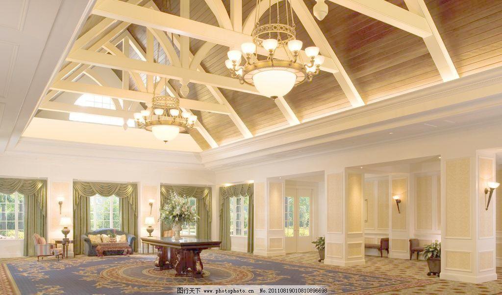 欧式豪华宴会厅图片