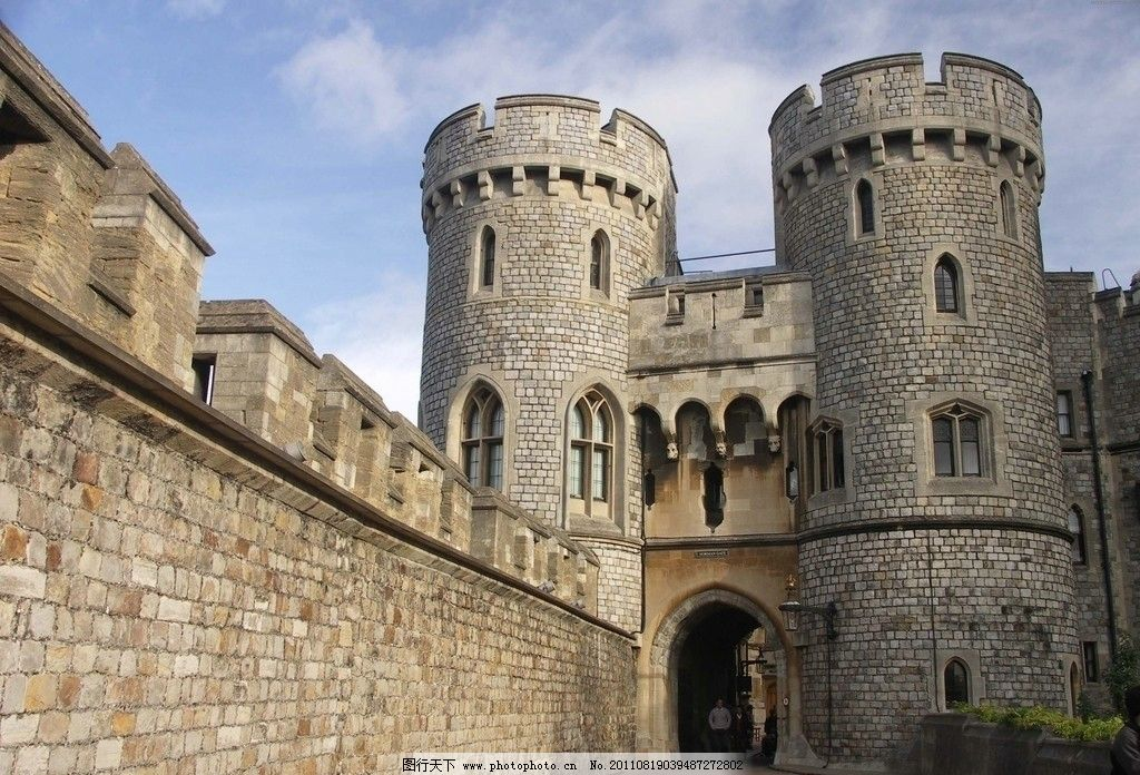 城堡 古堡 欧式城堡 建筑物