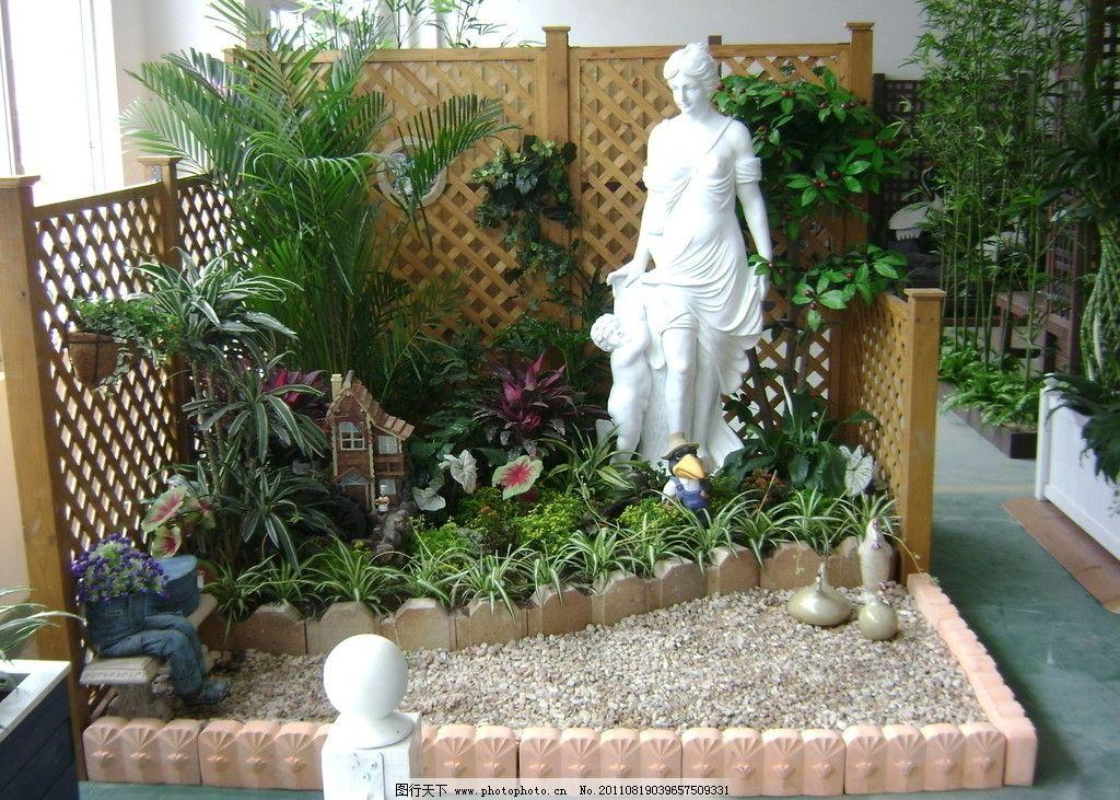 商业空间 展厅图片 网格 欧式雕塑 园艺花坛 雕塑 建筑园林 摄影 314d