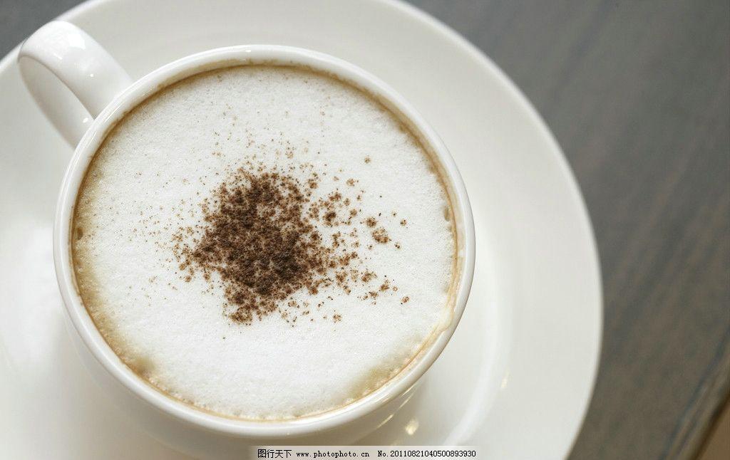 咖啡 俯视 牛奶加咖啡 花式咖啡 coffee 咖啡豆 咖啡杯 浓缩咖啡 浪漫