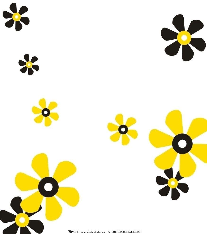 太阳花 玫瑰花 小花 移门大全 移门花纹 漂亮的小花 花纹花边