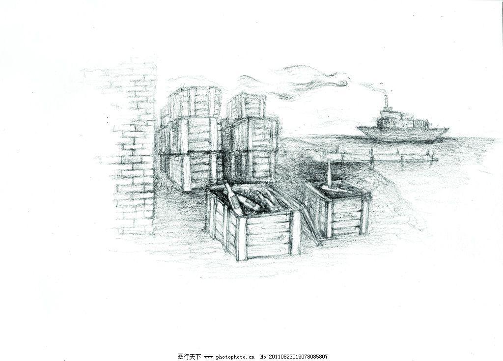 素描葡萄结构图片