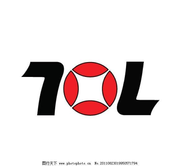 七禧龙企业标志矢量图