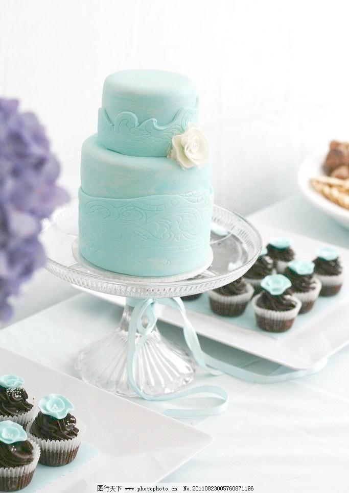 婚礼蛋糕矢量图形