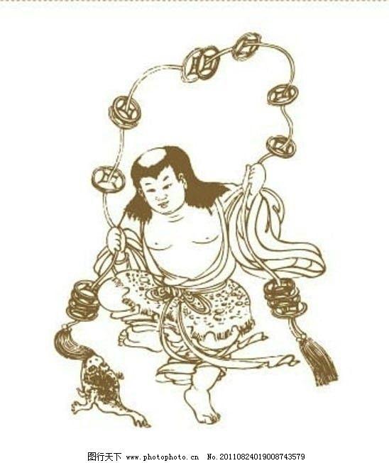 标志 标志素材 吉祥如意 矢量图案 传统图案 中国风 中国传统 线描