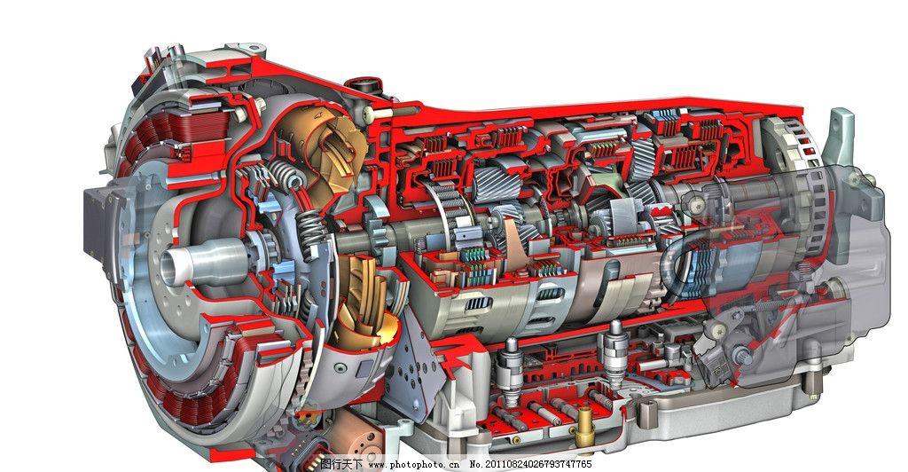奔驰汽车变速器结构图图片