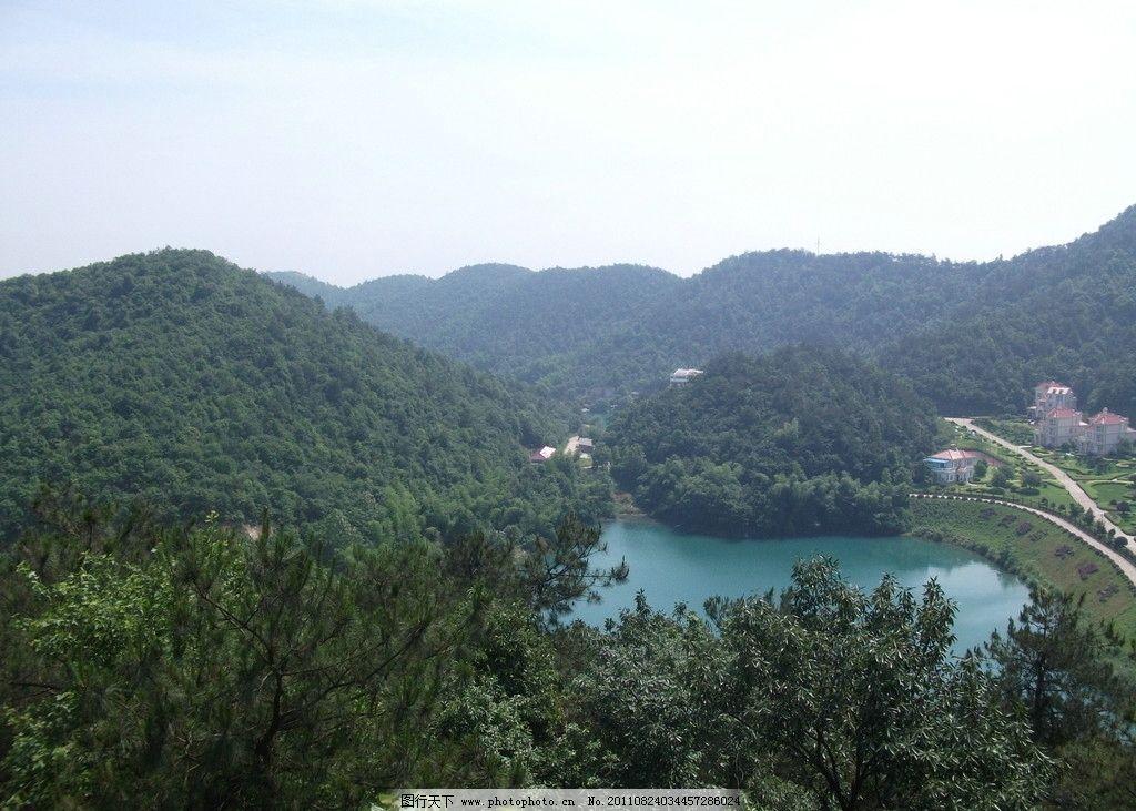 山水湖泊 山水 湖泊 蓝天 碧水 绿树 绿山 山水风景 自然景观 摄影 72