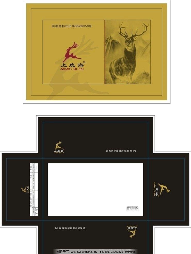 鞋盒 鹿 矢量 设计 包装设计 广告设计 cdr