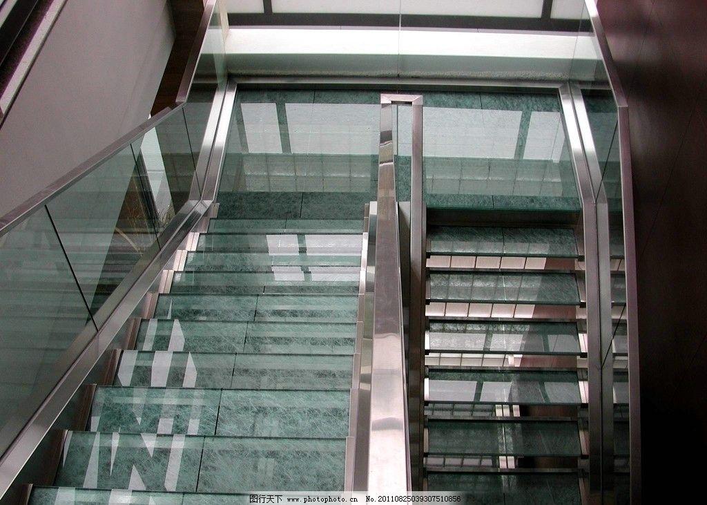 楼梯栏杆 楼梯      拉丝不锈钢 不锈钢 台阶 大理石 玻璃栏杆 扶手
