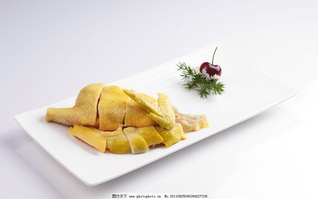 港式白切鸡 肉类 鲜花 烤肉 美食 餐饮 盘子 美食城 西餐美食图片