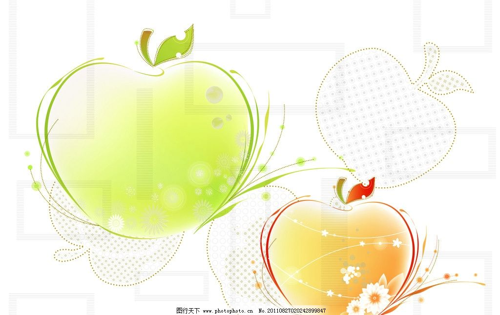 缤纷水果 水果 缤纷 时尚花纹