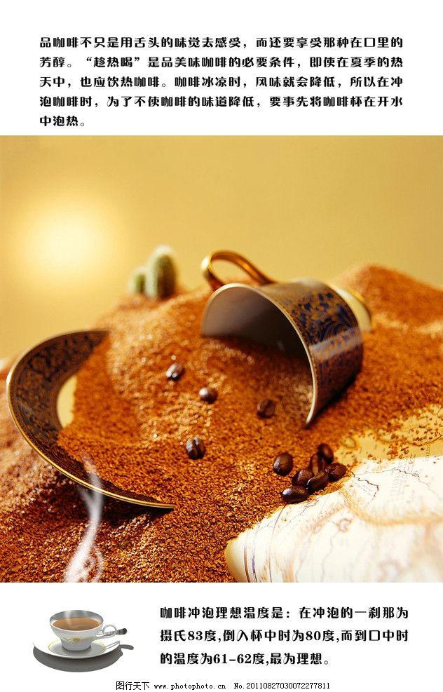 咖啡海报 咖啡 咖啡的冲泡说明 咖啡馆 咖啡豆 海报设计 广告设计模板