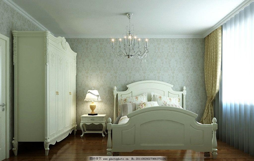 卧室装修效果图        装修效果图 室内效果图 欧式装修效果图 室内