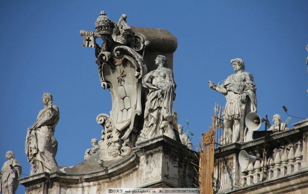 意大利雕塑建筑图片