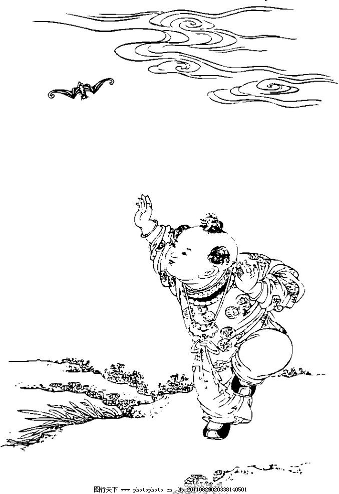 传统吉祥图 蝙蝠 中国传统图案 中国设计 底纹花纹 矢量图案 矢量素材