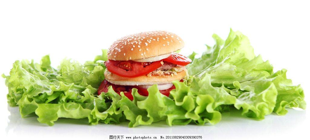 汉堡 沙拉
