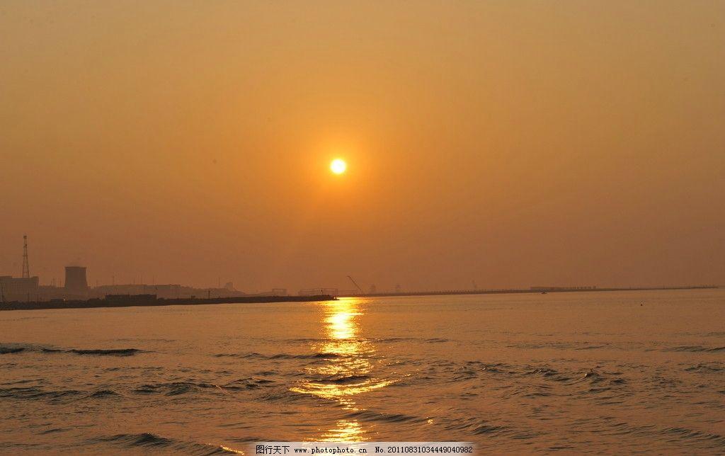 海上日出 大海 日出 朝霞 绥中葫芦岛 山水风景 自然景观 摄影 300dpi
