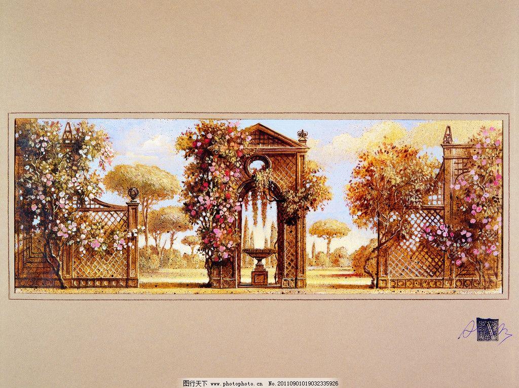 风景油画之欧式风格