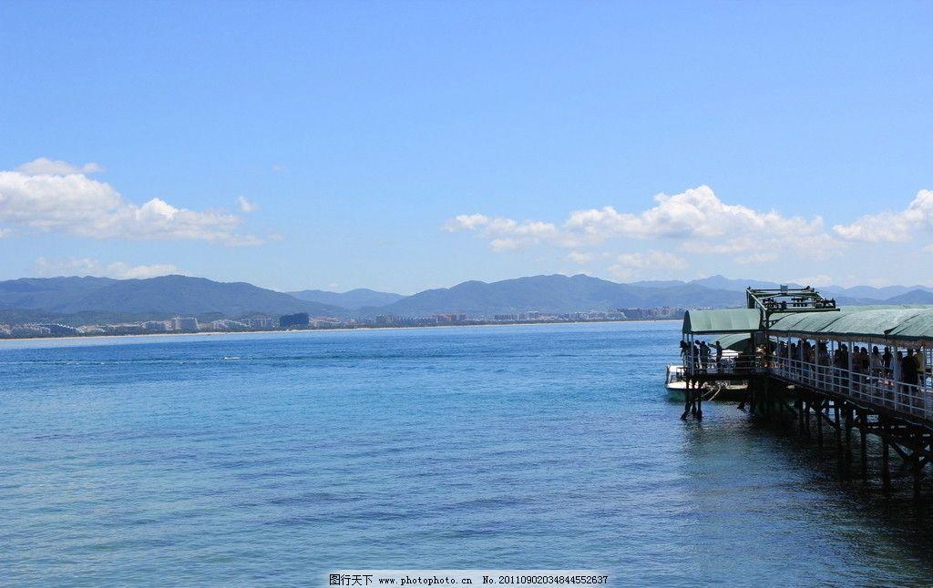 西岛风光 海南 三亚 风景 西岛 海边 栈道 自然风景 自然景观 摄影 72