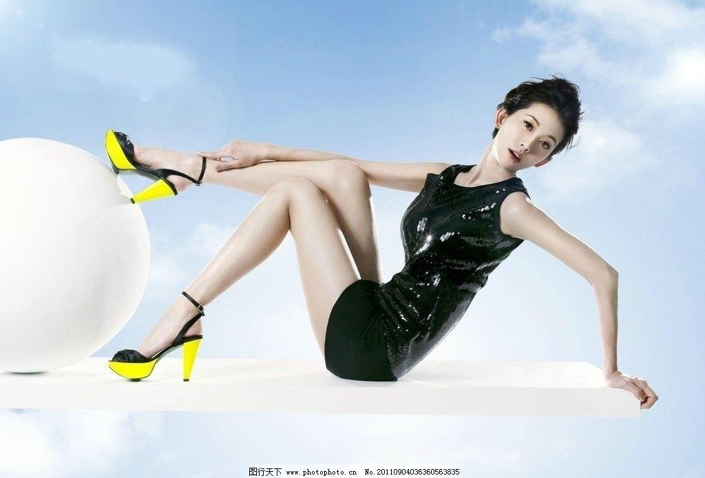 林志玲 偶像 明星 广告模特 美女 形象代言 性感美女 人物摄影图片