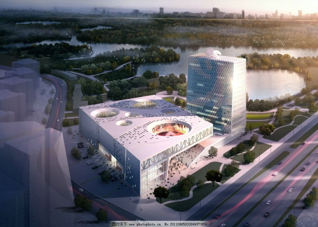 环境设计 异形建筑 城市规划 城镇规划 城市效果图 城市景观 建筑蓝图