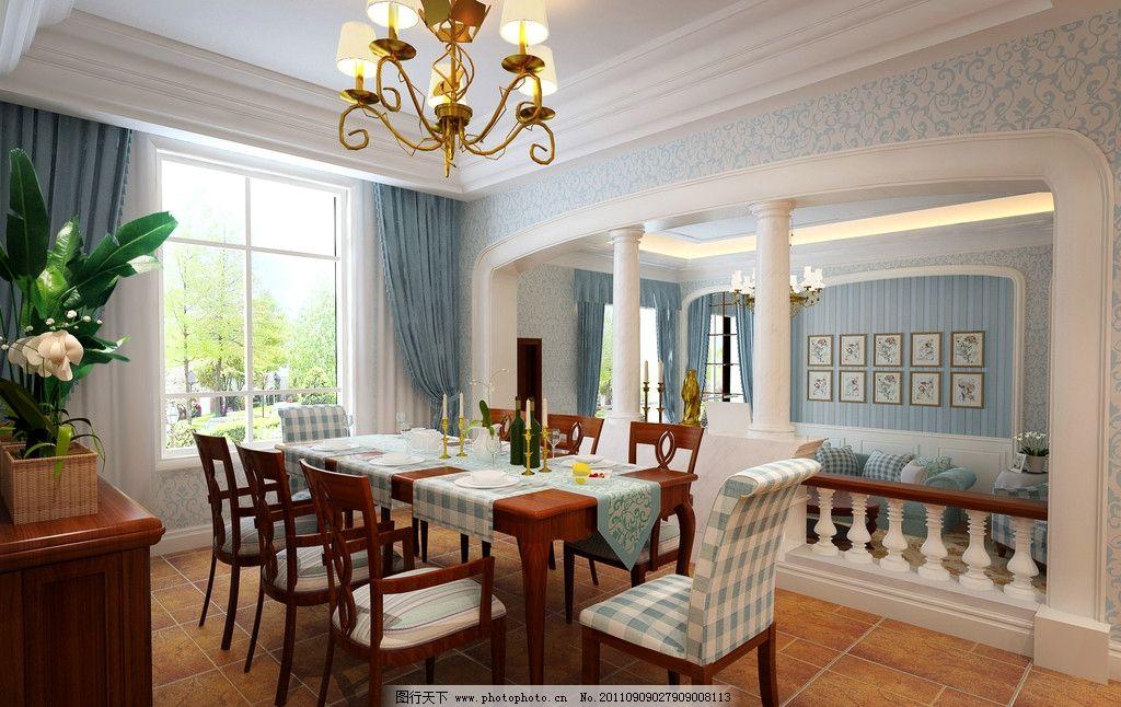欧式别墅室楼梯设计