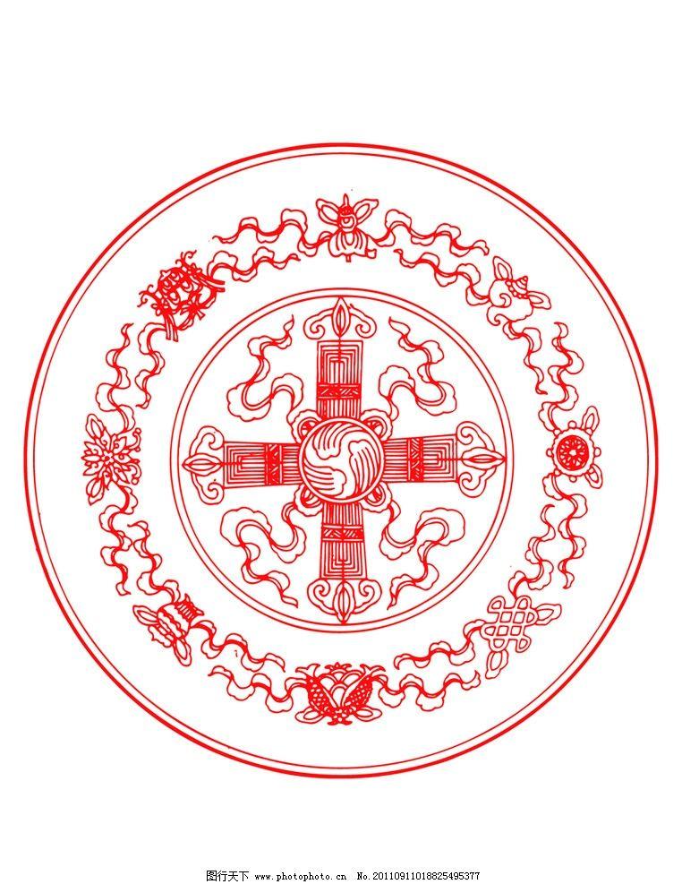 传统精美图案 中国红 红色 中国设计 吉祥图案 古典图案 古典纹样