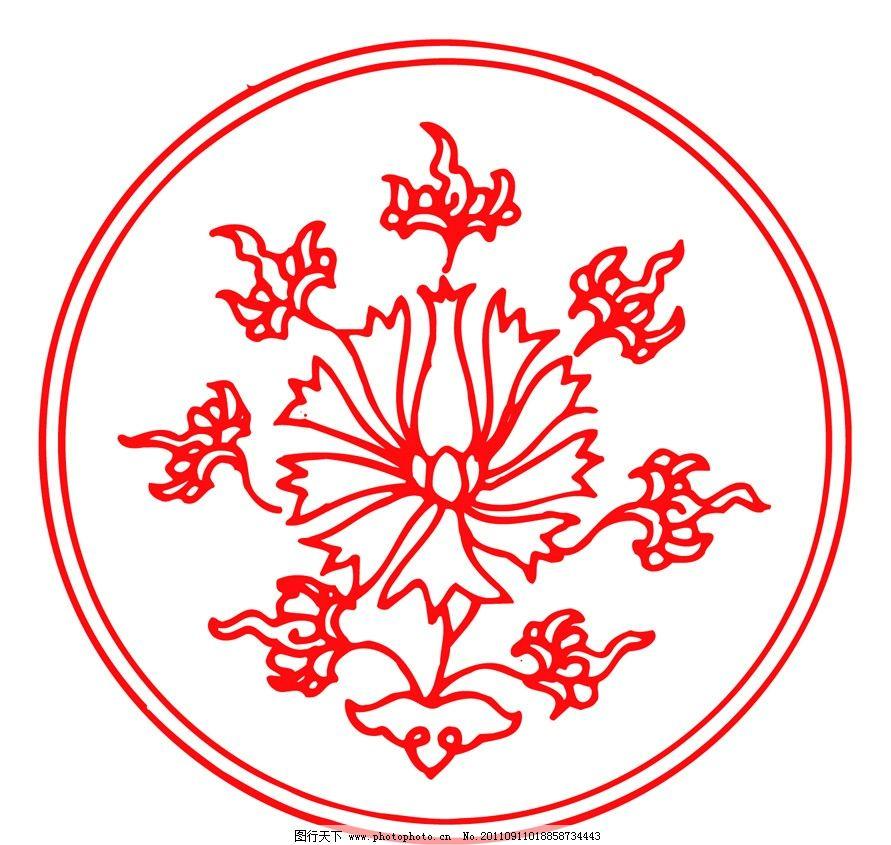 春节 年画 传统年画 纹样 边框图案 底纹 传统图案 传统花纹 传统纹样