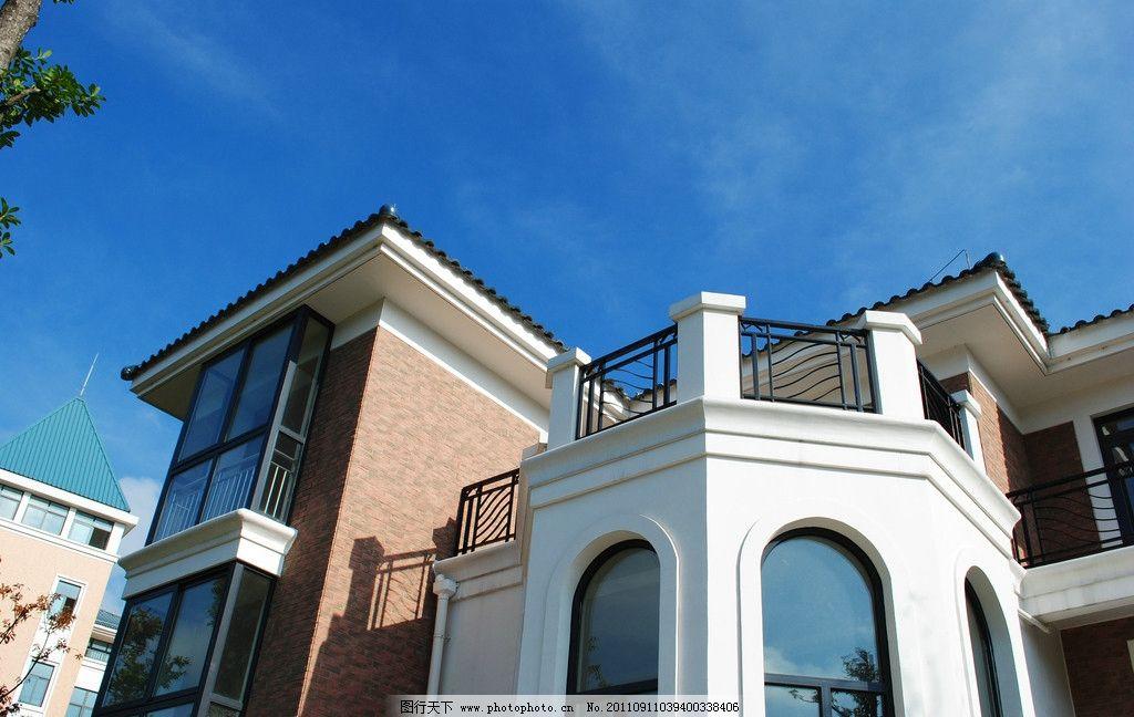别墅建筑外立面图片