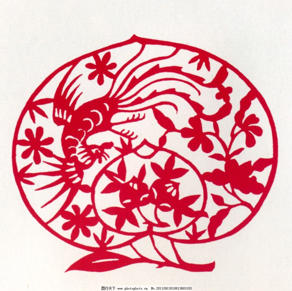 寿桃 中国传统图案 图案 中国设计 剪纸 中国风 传统图案 花纹 传统